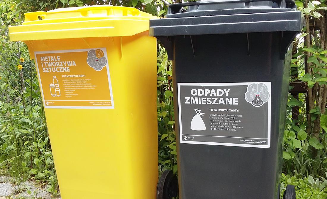 Koniec blaszanych pojemników na śmieci