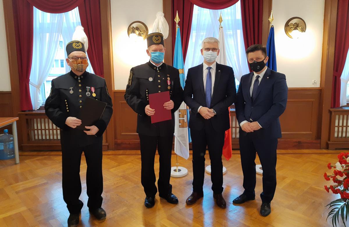 Ministrowie odwiedzili skalników [FOTO]
