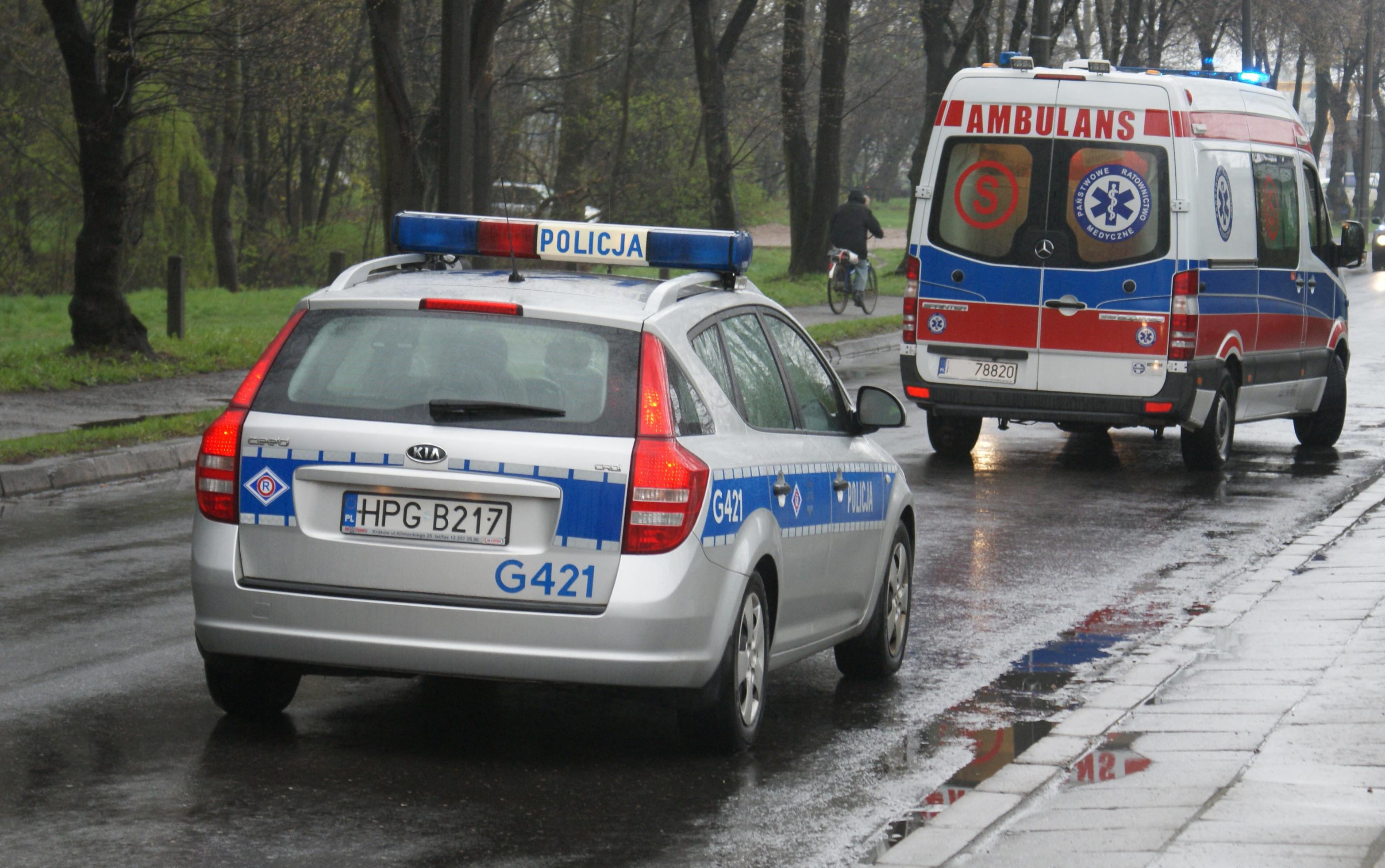 Potrącenie pieszej na Legnickiej