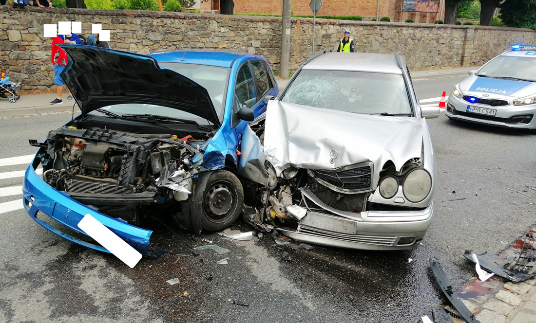 Wypadek w Jaroszowie [FOTO]