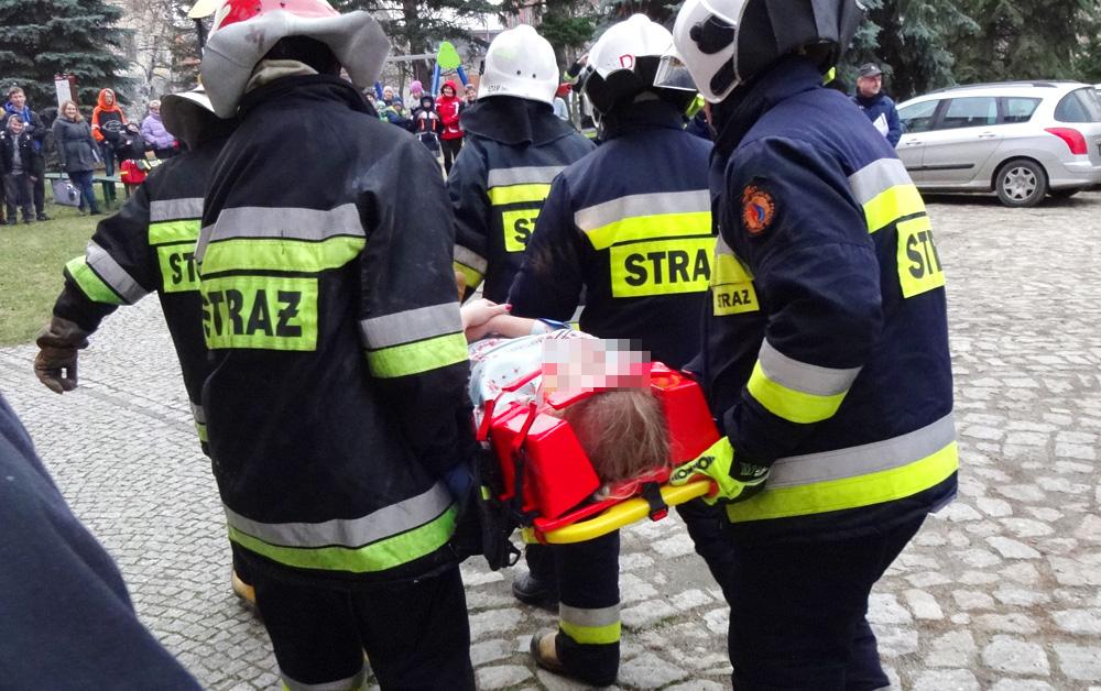 Akcja ratunkowa w Zespole Szkół Specjalnych [FOTO]