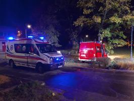 Strażacy z OSP Strzegom ratowali mężczyznę! [FOTO]