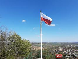 Najwyżej powiewająca flaga w powiecie! [FOTO]