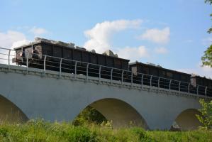 I transport odnowioną estakadą [FOTO]
